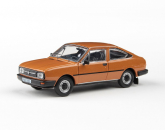 Škoda Garde 1982 - Bronzová Metalíza - Abrex 1:43