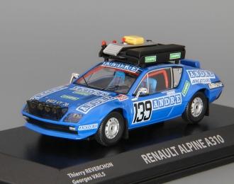 (Уценка!) RENAULT Alpine A310 Dakar #139 Reverchon Vails (1981), blue