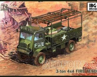 Сборная модель Bedford QL Fire Tender