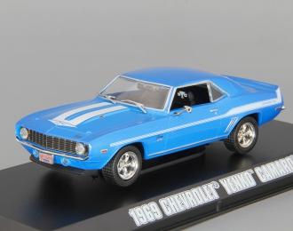 """CHEVROLET Camaro из к/ф """"Двойной Форсаж"""" (1969), blue"""