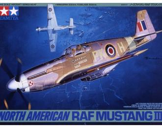 Сборная модель N.A.RAF Mustang III