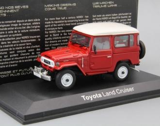 TOYOTA Land Cruiser BJ40 (1974), red