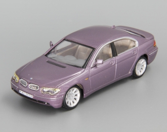 BMW 7 Series, purple