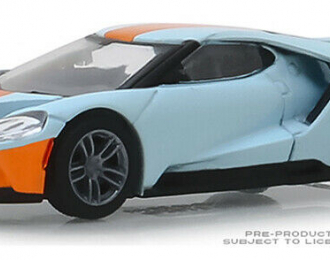 FORD GT Heritage Edition 2019 Gulf Oil Color Scheme