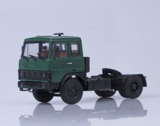 МАЗ 5432 седельный тягач ранняя кабина, зелёный