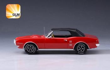 PONTIAC Firebird 400 Convertible (закрытый) 1968 Red