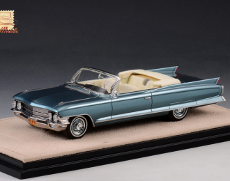 CADILLAC Series 62 Convertible (открытый) 1962 Neptune Blue Metallic