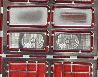 Фототравление Набор оптики ВАЗ 2105, никелирование