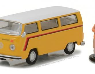 VOLKSWAGEN T2 Bus (1975), yellow / white