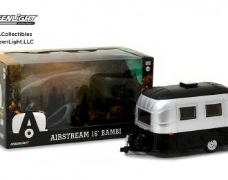 Прицеп-кемпер Bambi Airstream Sport серебристый со следами эксплуатации