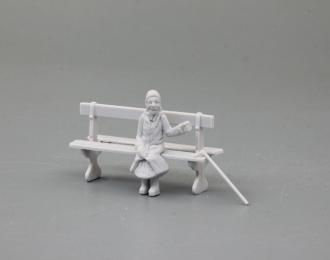"""Сборная модель Фигура """"Бабулька-барабулька"""""""