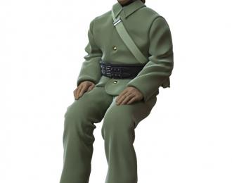 Сборная модель Фигура Пожарный №3