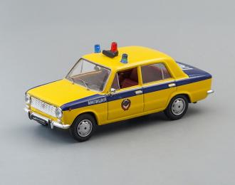 (Конверсия!) ВАЗ 2101 Милиция, желтый