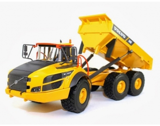VOLVO A40F Dump Truck, yellow