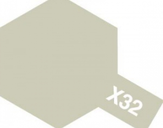 X-32 Titanium Silver (краска эмалевая, титан серебристый глянцевый), 10мл.