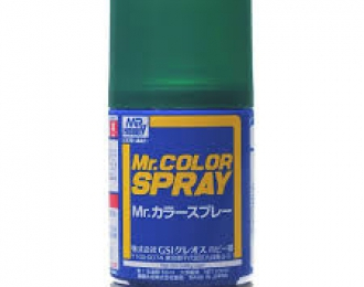 Аэрозольная краска (100 мл) METALLIC GREEN (в баллоне)