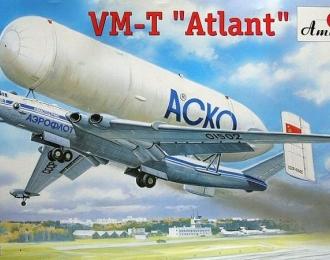 Сборная модель Советский транспортный самолет ВМ-Т