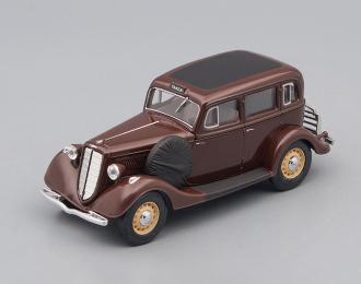 Горький М1 такси, коричневый