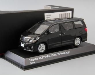 TOYOTA Alphard 350S C Package, black
