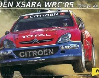 Сборная модель CITROEN Xsara WRC 2005
