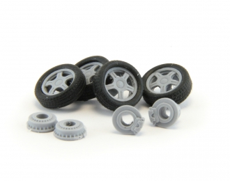Комплект колес №3 для LADA (Приора, Калина, Самара, 2110-2112)