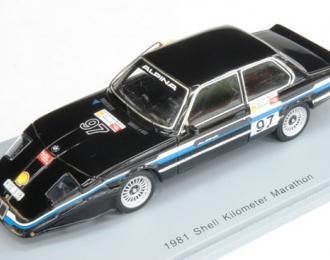 ALPINA C1 318i E21 Record Car (1981), black
