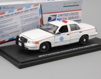 "(Уценка!) FORD Crown Victoria Police Interceptor ""United States Postal Service"" (почтовая полиция) 2010"
