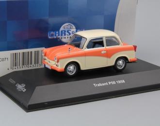 TRABANT P50 Limousine (1958), beige / pink