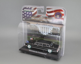 LINCOLN Continental президента США Рональда Рейгана (1972), black (Зеленые колёса!)