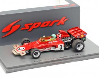 Lotus 72D #3 Canadian GP 1971 Reine Wisell