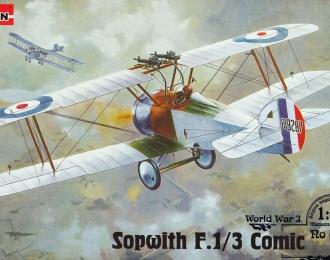 Сборная модель Британский истребитель Sopwith F.1/3 Comic