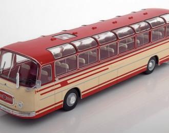 автобус SETRA S14 1966 Beige/Red