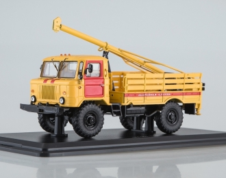 Бурильная машина БМ-302 (66) Аварийная служба, желтый