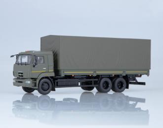 КАМАЗ-65117 бортовой (рестайлинг), хаки