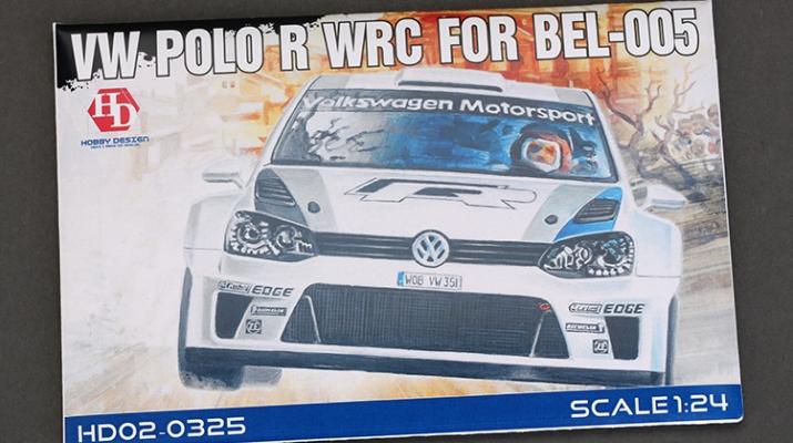 Набор для доработки VOLKSWAGEN POLO R WRC для моделей BEL-005 (PE+Resin)