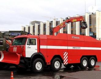 КИТ Автомобиль пожарно-спасательный бронированный АПСБ-6,0-40-10 (КАМАЗ-63501)