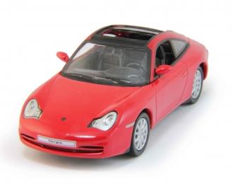 PORSCHE 911 Targa (2002), red
