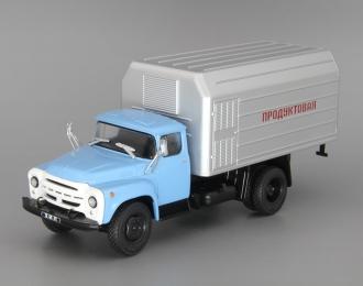 ЛуМЗ-890Б (130), Грузовики СССР 12, голубой / серый
