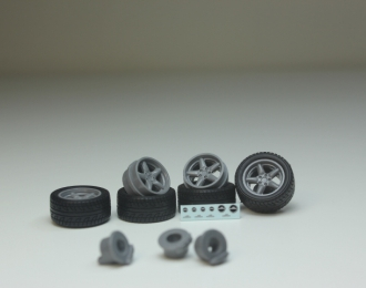 Комплект колес #11 (BMW AC Shnitzer)