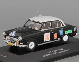 Горький 21K #86 Ралли 1000 Озёр Финляндия (1962), черный