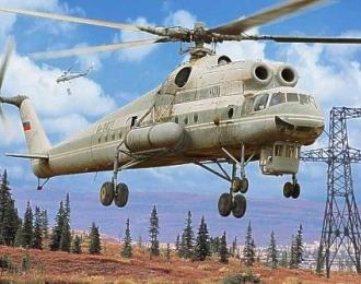 """Сборная модель Вертолет Ми-10К """"летающий кран"""""""