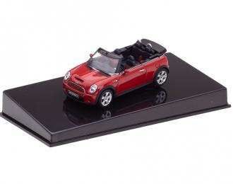 MINI Cooper S Cabrio (2006), red