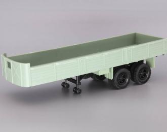 МАЗ-5205 полуприцеп, светло-зеленый