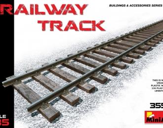 Сборная модель Аксессуары  RAILWAY TRACK EUROPEAN GAUGE