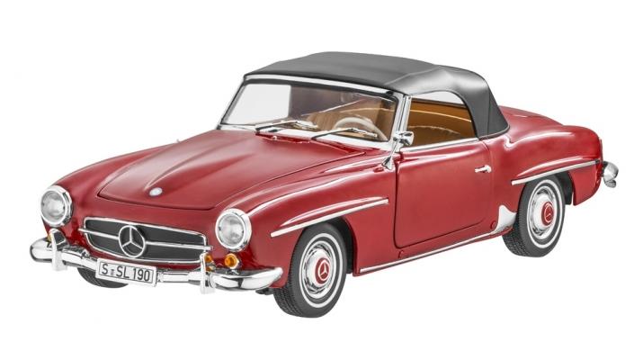 MERCEDES-BENZ 190SL (1955 - 1963) W121 red