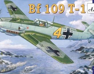 Сборная модель Немецкий палубный истребитель Messerschmitt Bf.109 T-1