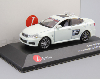 "LEXUS IS-F ""Rolex Monterey Safety Car 2009"", white"