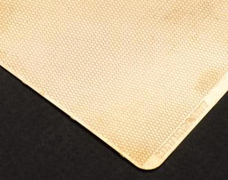 Фототравление Лист рифленый ромб, размер M, тип 1