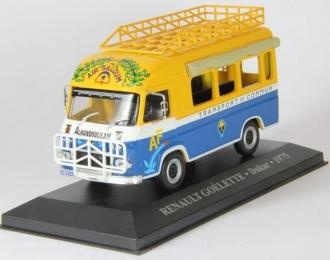 RENAULT Goelette Dakar (1975), yellow / blue