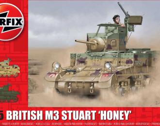 Сборная модель M3 Stuart - Honey